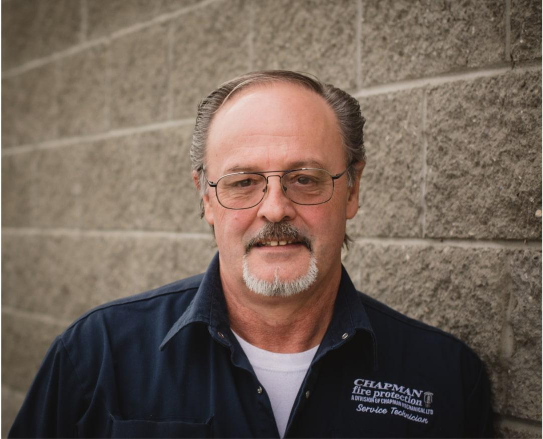 Chapman Mechanical Ltd - Vernon BC - Plumbing Heating Fire Protection - Management Team - Steve Jolie