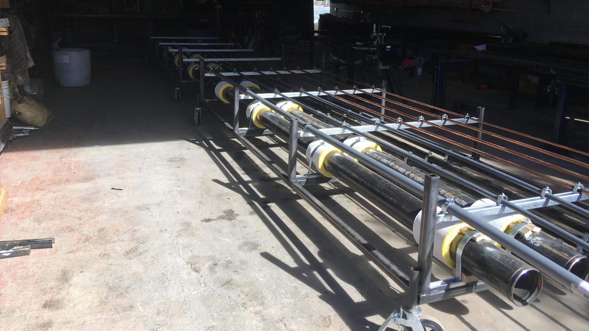 Chapman Mechanical Ltd - Vernon BC - Plumbing Heating Fire Protection - Prefabrication Shop 5